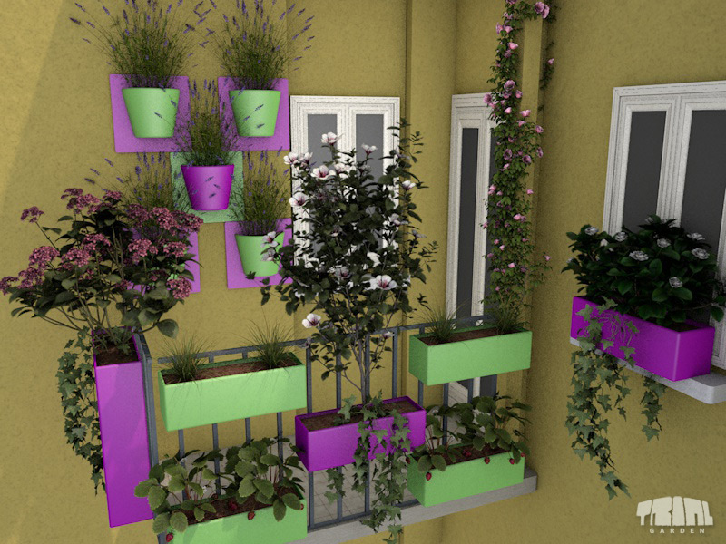 Balconi - Idee per terrazzi fioriti ...