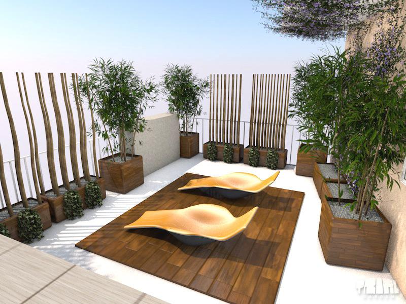 Terrazzi for Arredo terrazzo design